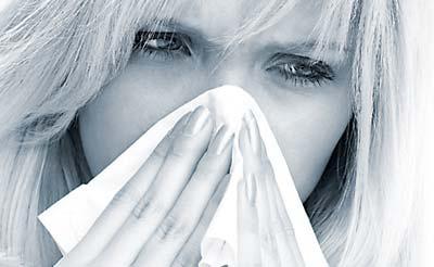 Étel-, pollen-, bőr-, fém- allergia